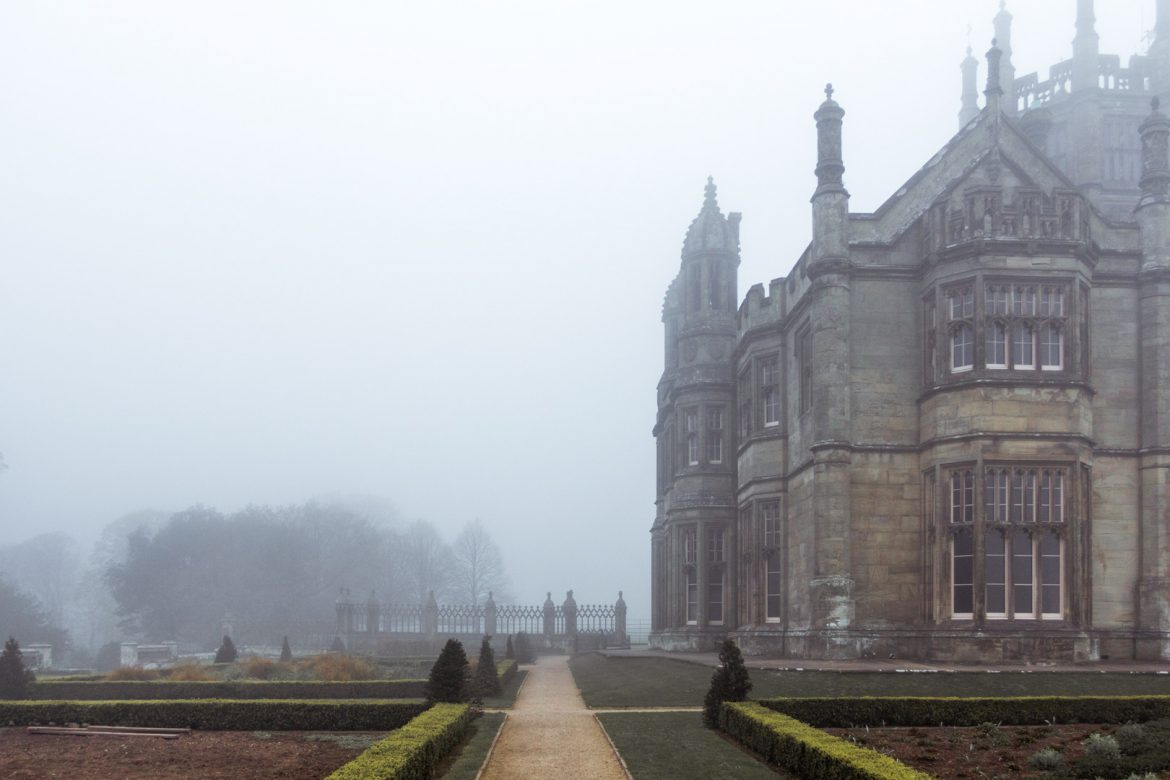 Margam Castle, home of the Mansel Talbot family at Margam Country Park, South Wales